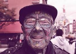 25 best old people with tattoos images on pinterest feminine