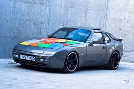slammed porsche 944 lowered 944 usa and v conversion headers for important and