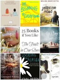 25 books to read if you like the fault in our bookworm