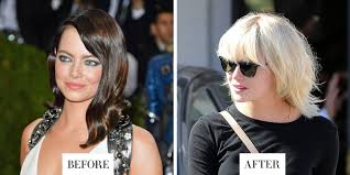 Best At Home Hair Color For Brunettes Best Celebrity Hair Transformations 2016 Celebrity Hairstyles
