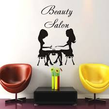 removable wall decals picture more detailed picture about dctop dctop beauty salon nail care two women wall sticker vinyl removable wall decals home decor living