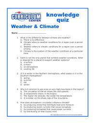 weather and climate worksheets for grade 5 deployday