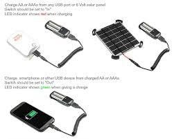 Diy Solar Phone Charger Aa Aaa Solar Charger Kit