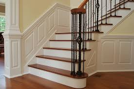 Wall Stairs Design Wainscoting Stairs Styles Latest Door U0026 Stair Design
