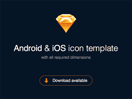 sketch icon template for android and ios sketch freebie download