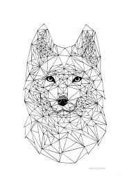 best 25 geometric wolf ideas on pinterest geometric wolf tattoo