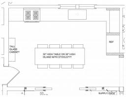 simple kitchen floor plan house floor plans