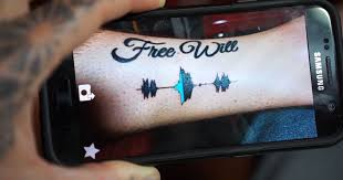 immortalize your loved one u0027s voice with this soundwave tattoo
