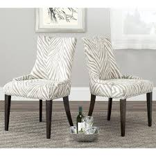 Zebra Home Decor Loving This Chair Totally My Style Ore Black - Animal print dining room chairs