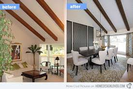 home design before and after 15 before and after pictures of dining room makeovers home