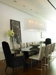 modern contemporary dining room chandeliers dining room crystal