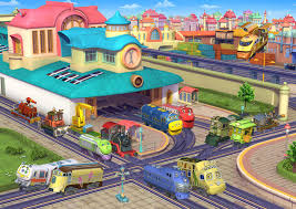 chuggington busy jigsaw puzzle puzzlewarehouse