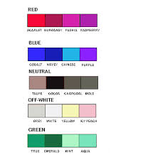 colors that go well with red how to choose colors to flatter your skin tone winter colors dark
