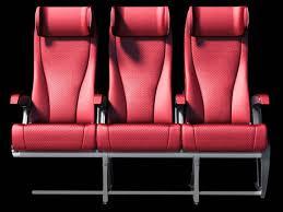 cabine de avec siège intégré siège pour cabine pour première classe pour classe économique