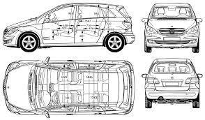 auto mercedes b class 2006 bild bild zeigt abbildung