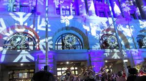 turning on the christmas lights in perth 13 11 2015 youtube