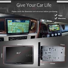 lexus is aftermarket navigation head unit amazon com joying 10 1