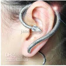 cheap clip on earrings 2018 snake stud clip on earrings ear cuff jewelry hot