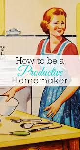 The Frugal Homemaker by How To Be A Productive Homemaker Retro Housewife Goes Green