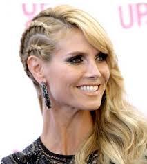 the half braided hairstyles in africa heidi klum half hawk reverse african braid hairstyles romantic