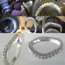 custom wedding bands atlas custom shadow wedding bands atlas jewelers