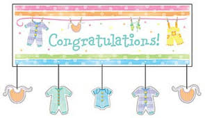 baby shower banners second marketplace aj baby shower banner 2