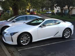 the lexus hotel seattle lexus lc500h not supposed to be available till may this one must