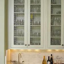 chicken wire cabinet door inserts wire mesh kitchen cabinet doors design ideas