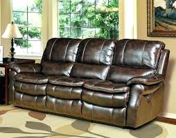 Power Sofa Recliners Leather Ashley Power Recliner Sofa Leather Living Room Sofas Recliners