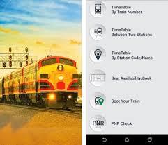 indian railway apk offline indian rail time table apk version 5 0