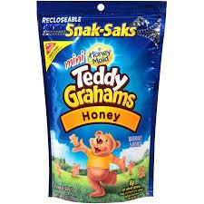 teddy gram delivery nabisco teddy grahams mini honey graham snacks honey 8 0 oz