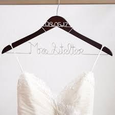 wedding dress hanger personalized hanger wedding hangers bridal shower gifts