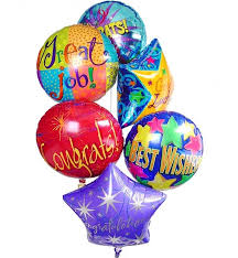 mylar balloon bouquet congratulations balloon bouquet 6 mylar balloons balloon