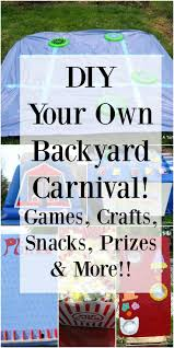 Outdoor Party Games For Adults by Best 10 Diy Carnival Games Ideas On Pinterest Carnival Diy