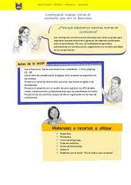 unidades y sesiones de aprendizaje comunicacion minedu rutas sesión de aprendizaje minedu adaptado a word
