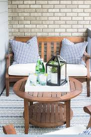 Small Condo Patio Design Ideas Small Patio Makeover Patios by How To Decorate A Small Patio Small Patio Outdoor String