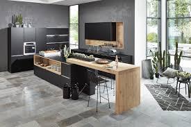 lack kchen schwarz modern kitchens stylish innovative nolte kitchens
