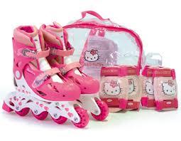 kitty inline roller skates 30 33 bag skates