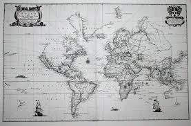 Blank World Map With Longitude And Latitude by Placing Pennsylvania On The Map The Seventeenth Century