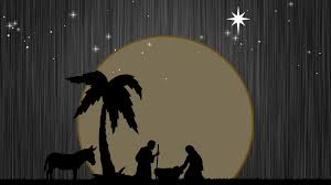 christmas night background baby jesus birth religious nativity