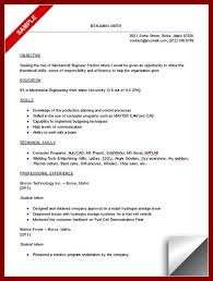 Sample Resume For Ojt Mechanical Engineering Students by 16 Student Resume Letter Sendletters Info