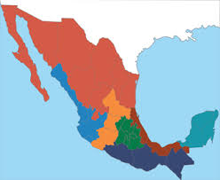 regions of mexico map arnaldo richards picos restaurant seven regions of mexican cuisine