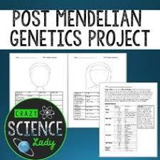 genetics practice problem worksheet linked genes linkage