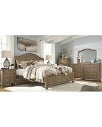 here u0027s a great price on trishley light brown panel bedroom set by