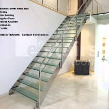 Stainless Steel Stairs Design Model Staircase Stainless Steel Hand Railing Designs Thrissur