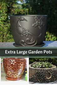 Large Planter Pot by Best 25 Large Garden Pots Ideas On Pinterest Large Plant Pots