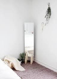 Minimalistic Bed Diy Minimal Floor Mirror The Merrythought