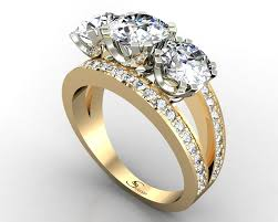 best engagements rings images Golden diamond rings wedding promise diamond engagement rings jpg