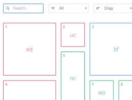 grid layout angularjs responsive filterable and draggable grid system muuri grid