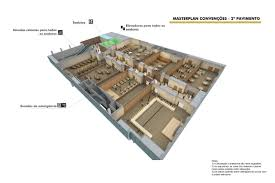 The Louvre Floor Plan by Pavimentos Windsor Conventions U0026 Expo Center Windsor Rio